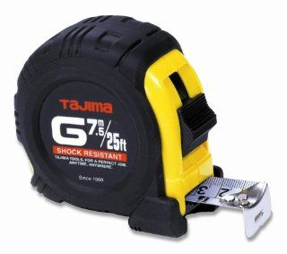 Tajima G 25/7.5MBW 25 Feet Standard and Metric Scale Tape Measure