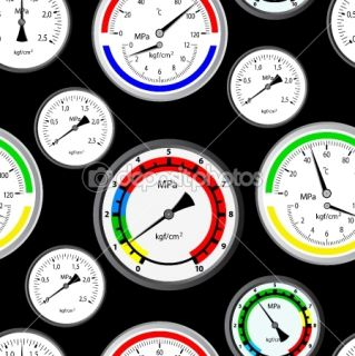 Seamless wallpaper the gas manometer  Foto stock © Aleksandr Strela