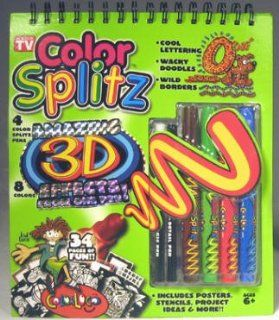 Color Splitz Activity Book Toys & Games