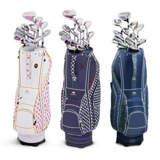 Adams Womens A7 OS Keri 14 Pieces Full Golf Club Set