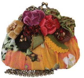 Mary Frances Jewel Bug Yellow Multi Mini Handbag: Clothing