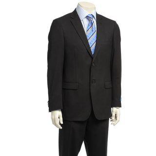 Ibiza Mens Black Two button Suit