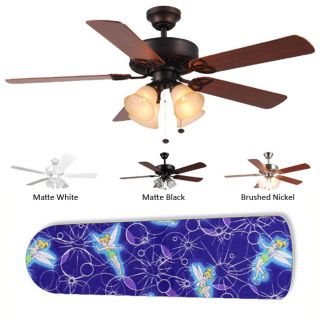 Tinkerbell iridessa fairy ceiling fan chain pull new image concepts 4 lamp purple tinkerbell ceiling fan aloadofball Choice Image