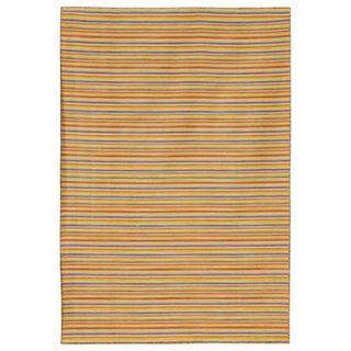 Flat Weave Wool Rug (8 x 10)