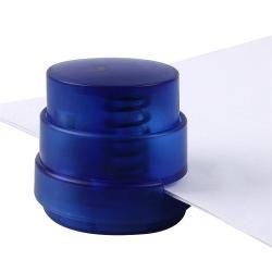 Clear Blue Stapleless Stapler