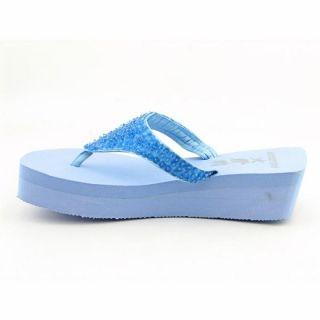 Rocket Dog Womens San Lucas Blue Sandals & Flip Flops (Size 9