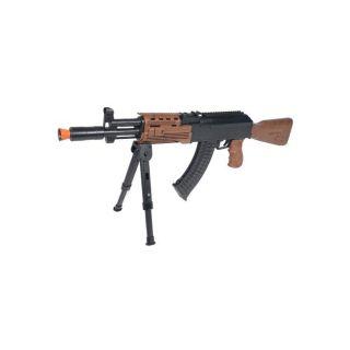 Spring Bunker AK47 Assault Rifle FPS 225 Airsoft Gun