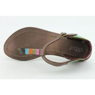 Diba Womens Jelly Bean Brown Sandals