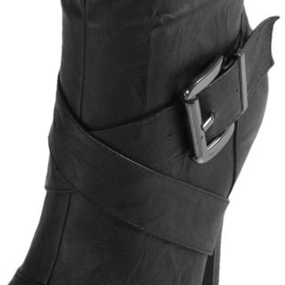 Journee Collection Womens Katherine 2 Strappy Heeled Boots