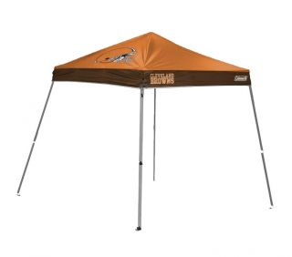 Coleman Cleveland Browns 10x10 inch Tailgate Canopy Tent Gazebo