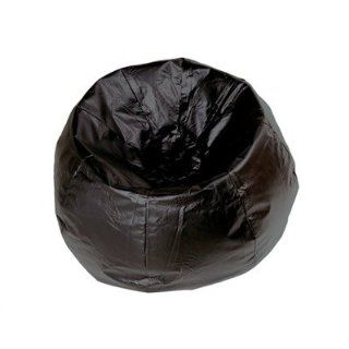 Ace Bayou 13207 132 Inch Vinyl Bean Bag Chair, Black