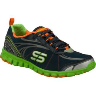 Womens Skechers EZ Flex Barbed Wire Navy/Green