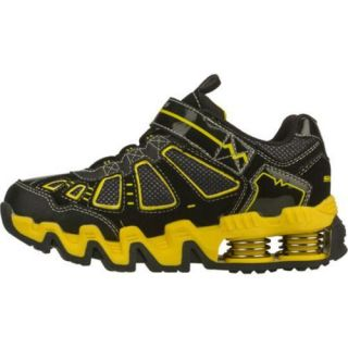 Boys Skechers Mega Flex Voltz Black/Yellow