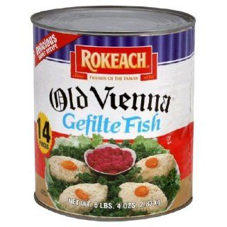 Rokeach, Fish Gefilte Old Vienna 14Pc, 120 Ounce (6 Pack