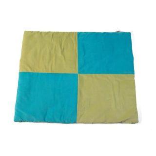 Jollein Tapis de sol 85 x 105 cm Colourful World turquoise / citron