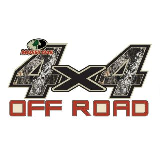 Mossy Oak Break up 4x4 Off Road Decal