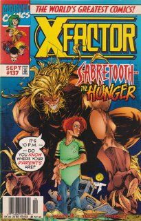 X factor, Vol 1 #137 (Comic Book) MARVEL COMICS Books