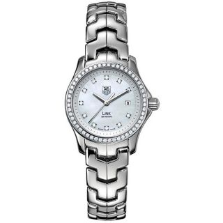 Tag Heuer Womens Link Diamond Accent Watch