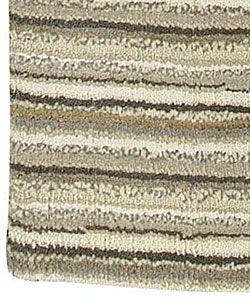 Hand crafted Aran Wool Rug (5 x 8)