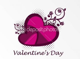 Wallpaper for valentine day  Vector Stock © alliesinteract #3113560