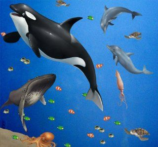 Sea Wall Mural for Kids Rooms Large Peel & Stick Ocean