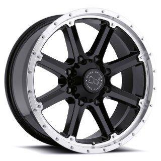 17x9 Black Rhino Moab (Gloss Black w/ Machined Lip) Wheels/Rims 6x139