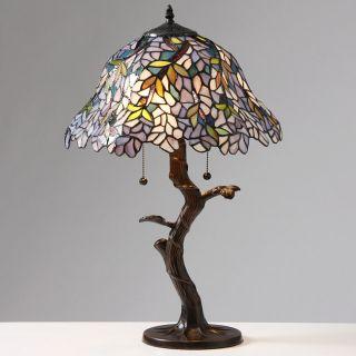 Tiffany style Esmeralda Table Lamp