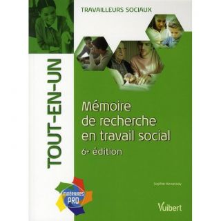 Memoire de recherche en travail social (6e edit  Achat / Vente