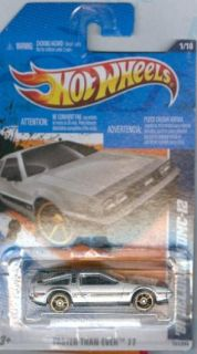 Hot Wheels 2011 141 81 Delorean DMC 12 Faster Than Ever
