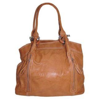 Large Zipper Tote Handbag (Desert Orange) Shoes