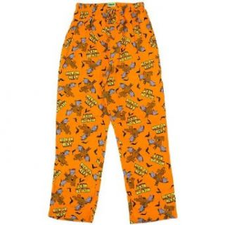 Scooby Doo Halloween Rick or Reat Mens Lounge Pants