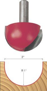 Freud 18 138 2 Inch Diameter Round Nose Router Bit with 1/2 Inch Shank
