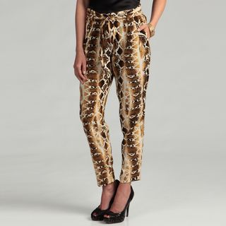 Jessica Simpson Juniors Snakeskin Print Pants