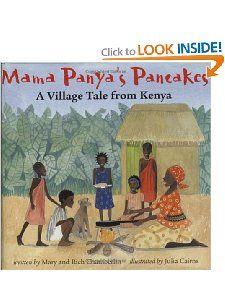Mama Panyas Pancakes Mary Chamberlin, Richard Chamberlin, Julia