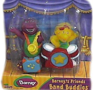 Barney Band Buddies Friends Set with Barney & BJ Toys