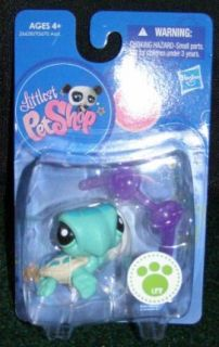 Hasbro Littlest Pet Shop Seafoam Green Baby Sea Turtle