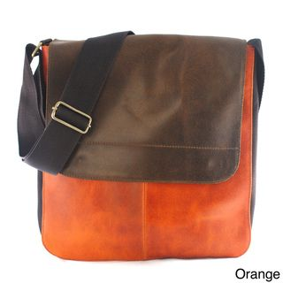 Handy Leather Flap over top Messenger Bag (Colombia)