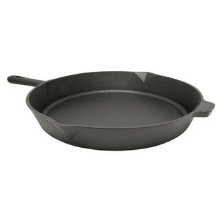 Bayou Classic 16 inch Round Cast Iron Skillet