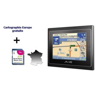Mio Moov 210 France TMC + Clé dactivation carte E   Achat / Vente