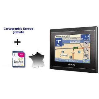 Mio Moov 210 France TMC + Clé dactivation carte E   Achat / Vente