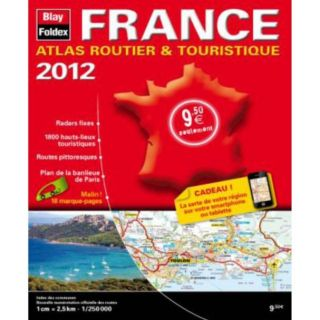 FRANCE ; ATLAS ROUTIER ET TOURISTIQUE (EDITION 201   Achat / Vente