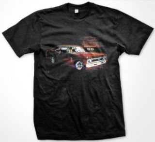 Chevy Nova SS Mens T shirt, Officially Licensed Chevrolet