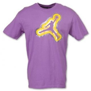 Air Jordan Nike Foiled Jumpman Shirt Purple 3XL Sports