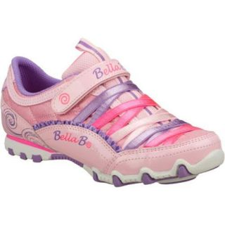 Girls Skechers Bella Ballerina Prima Sweet Spun Pink/Multi