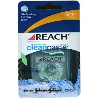 Reach CleanPaste Tartar Control Dental Floss, 35 Yd