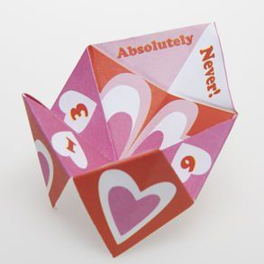 Valentine Fortune Tellers Toys & Games