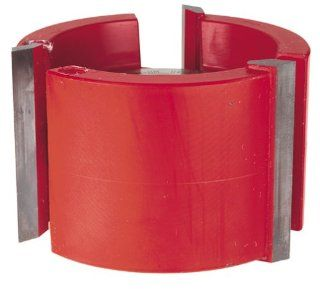 Freud UP151 3 Wing 2 1/4 Inch Straight Edge Shaper Cutter, 1 1/4 Bore