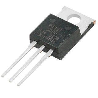 Amico 10 Pcs BT151 500R SOT78 Package Motor Control SCR Thyristors