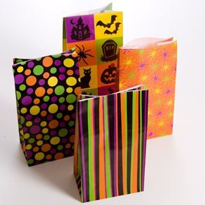 Halloween Paper Bags Toys & Games