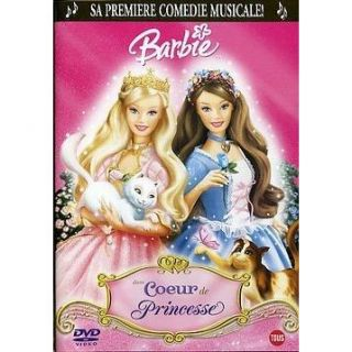 BARBIE  Cœur de Princesse en DVD DESSIN ANIME pas cher
